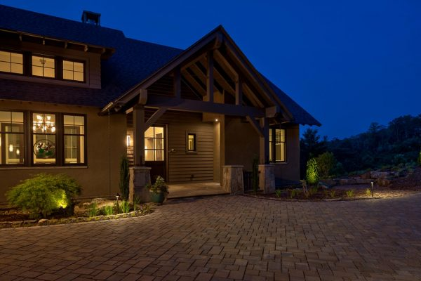 Walnut Cove - Restorative Design - Mountain home architecture