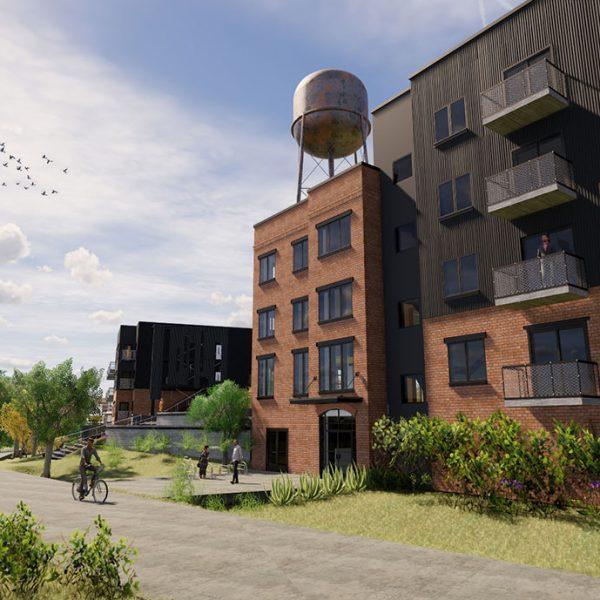 Water Tower - Greenville SC - Johnston Design