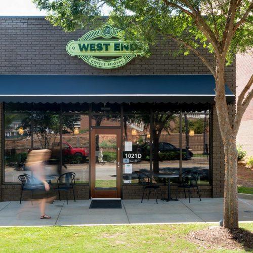West End Coffee Roasters Greenville, SC