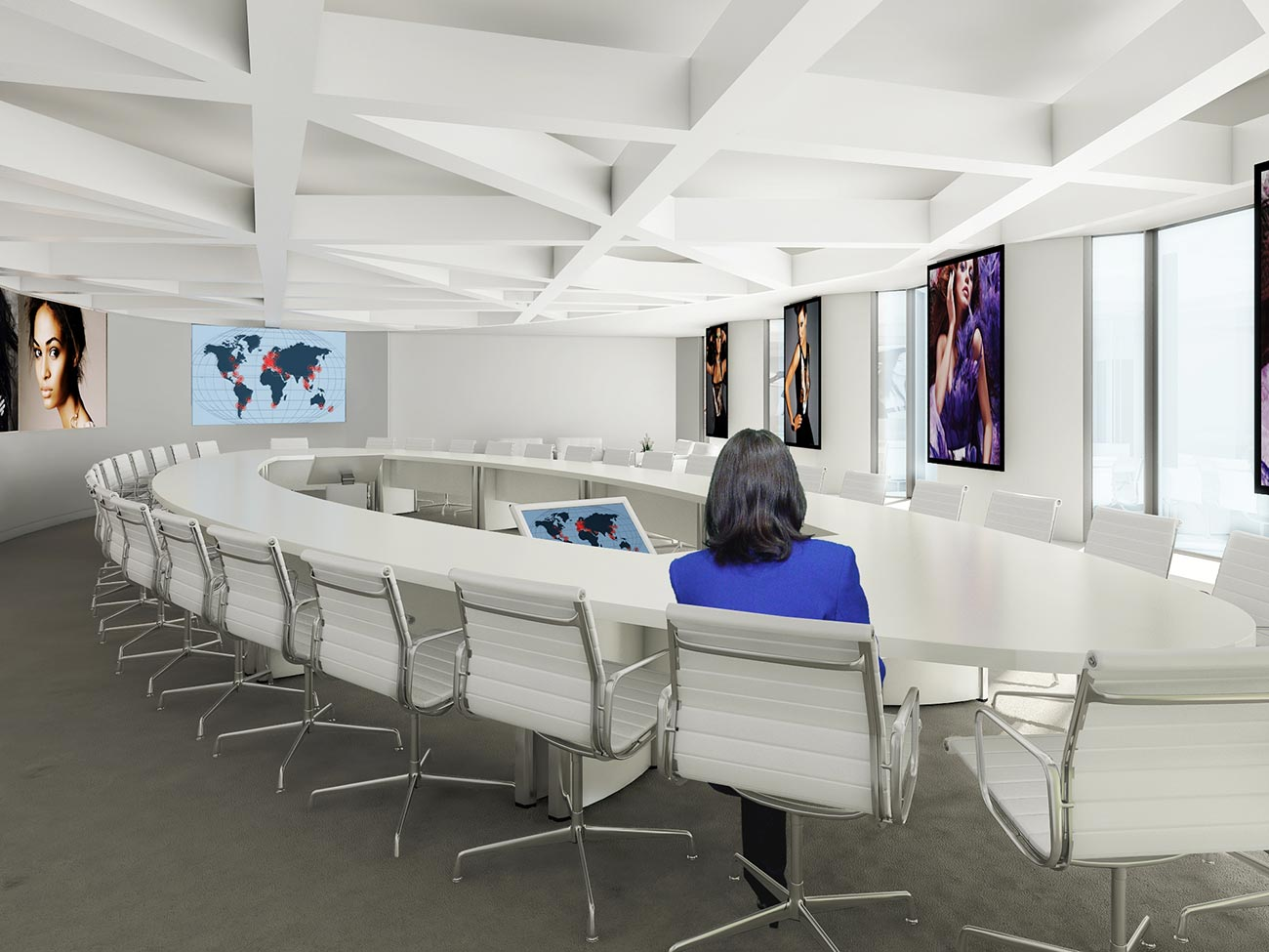 Incroyable Estee Lauder Exec Conference Room