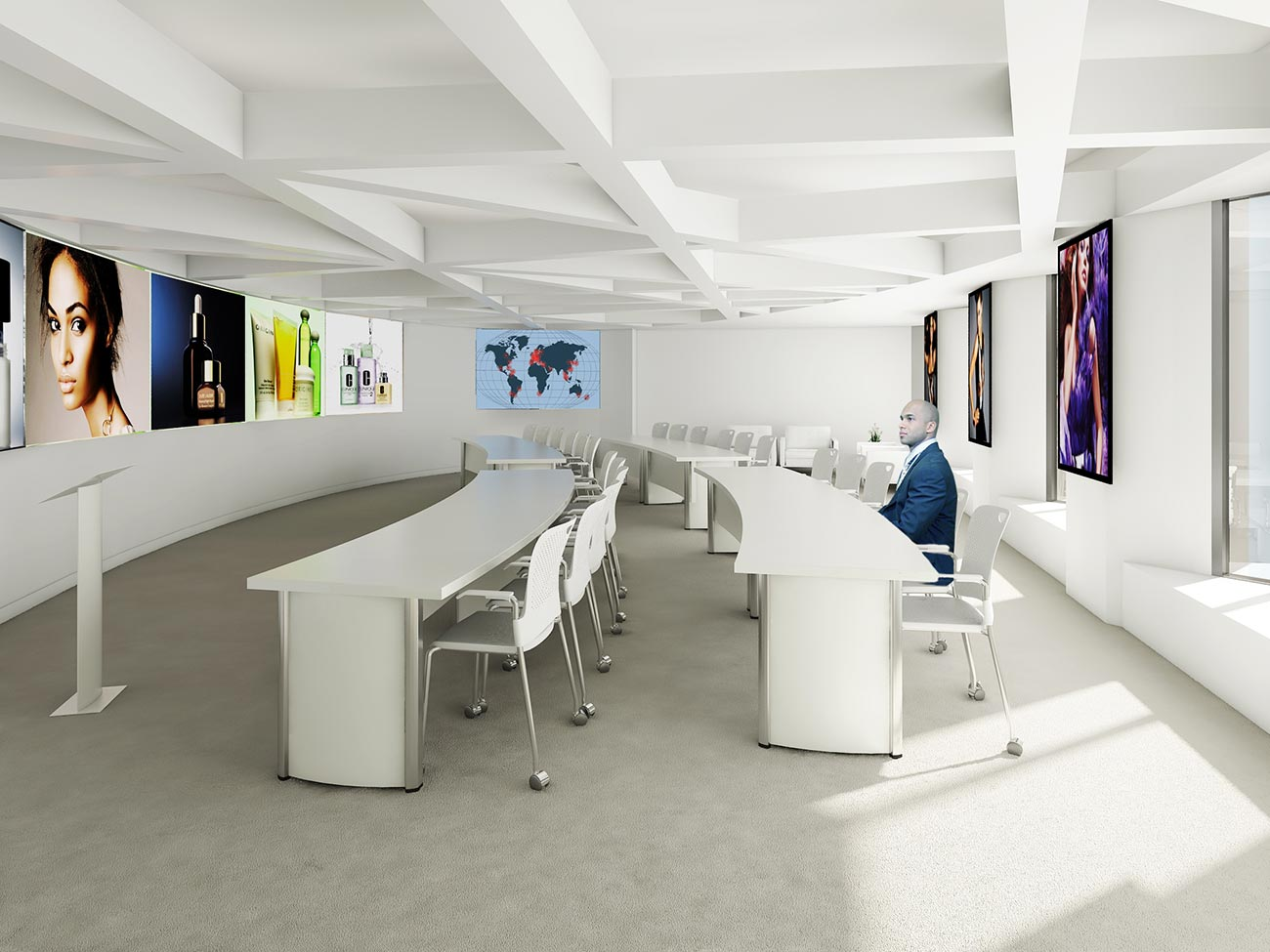 Charmant Estee Lauder Exec Conference Room