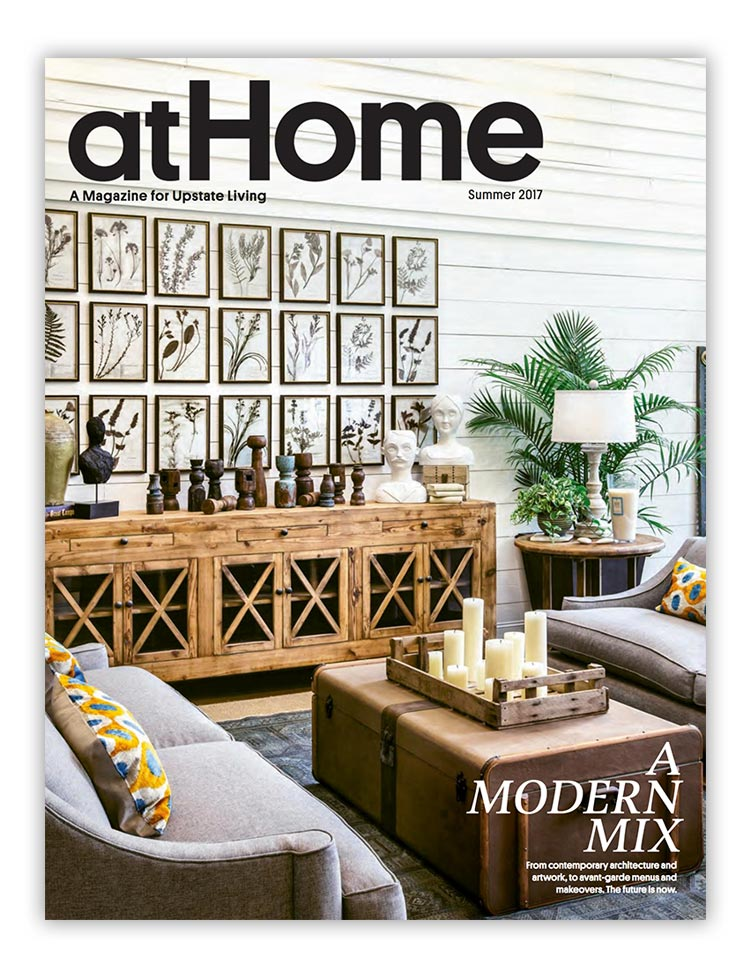 At Home Magazine Summer 2017 Johnston Design Group fearured