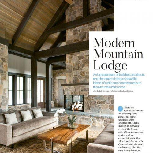 At Home Magazine Summer 2017 Johnston Design Group fearured