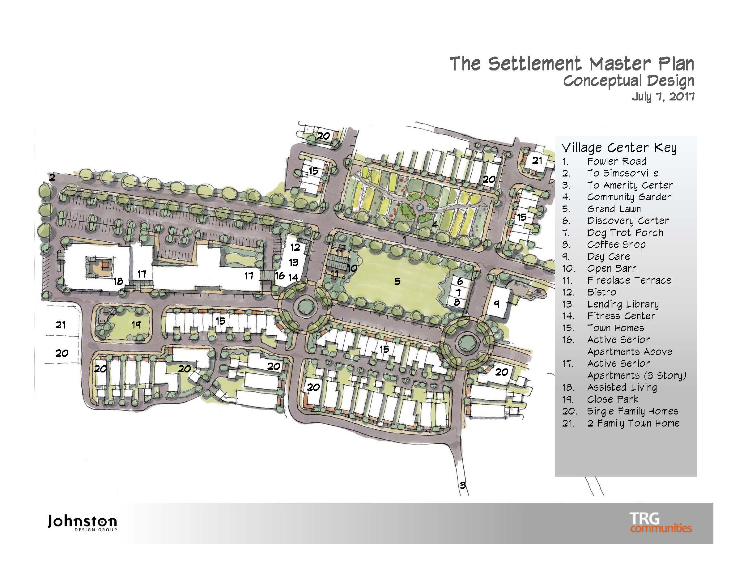 The Settlement, Simpsonville, SC - Mixed Use