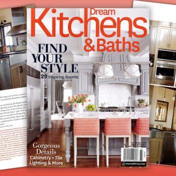 Johnston Design featured in Dream Kitchens & Baths