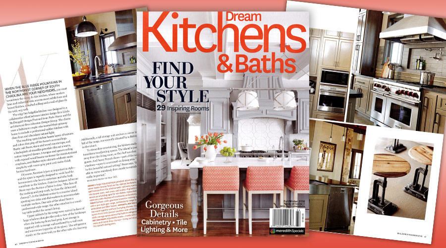 Johnston Design featured in Dream Kitchens & Baths
